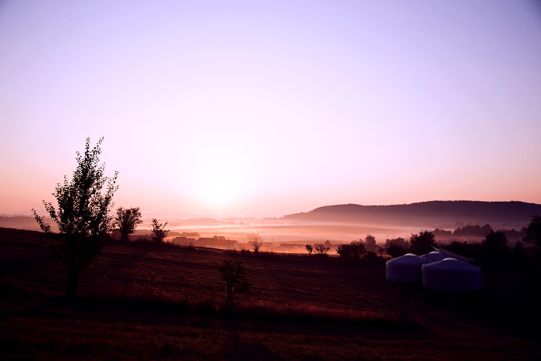 Erste Nebel – wir ziehen ein und der Sommer sagt langsam auf Wiedersehen
